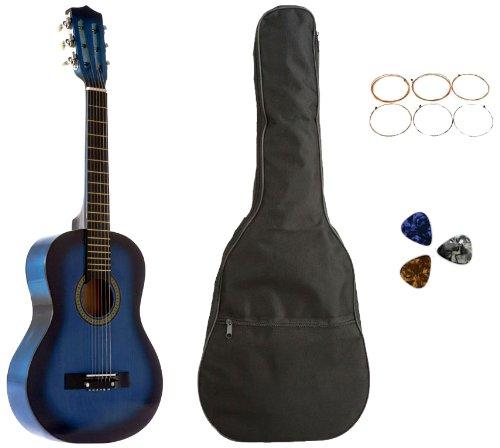白菜价!历史新低!Star CG5126-BSP-BL 31英寸 儿童玩具吉他1.8折 28.96加元清仓!