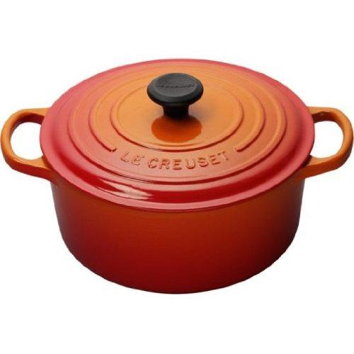 历史新低!Le Creuset 2升 火焰红 酷彩珐琅 经典圆形铸铁深烧锅4.9折 161.31加元包邮!