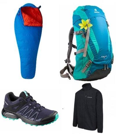 今日闪购:精选 The North Face、Timberland、Columbia、Marmot 等品牌运动鞋、夹克、帐篷、睡袋、背包等4折起!全场包邮!