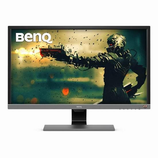 历史新低!BenQ 明基 EL2870U 28英寸 智慧调光 HDR 4K超高清游戏显示器 349.99加元包邮!