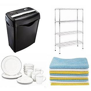 精选 AmazonBasics、Pinzon 品牌日用百货、床上用品、家具、电器、背包等特价销售,会员额外7.5折!