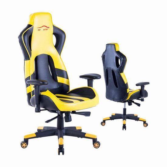 历史新低!Top Gamer 人体工学 高靠背赛车办公椅/游戏椅 99.99加元包邮!