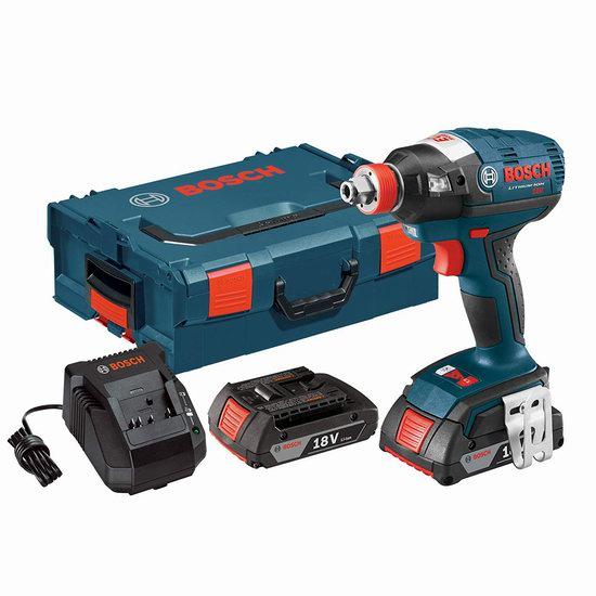 历史新低!Bosch 博世 IDH182-02L 18伏 无刷电机 冲击起子套装3.5折 191加元包邮!