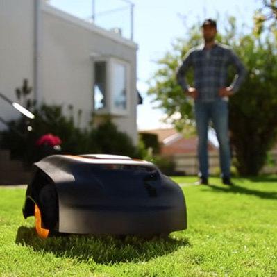 McCulloch ROB1000 超静音 智能割草机器人7折 1117.83加元包邮!
