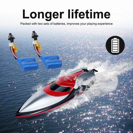Virhuck H120 2.4GHz 4CH 无线遥控 高速快艇4.4折 39.99加元限量特卖并包邮!