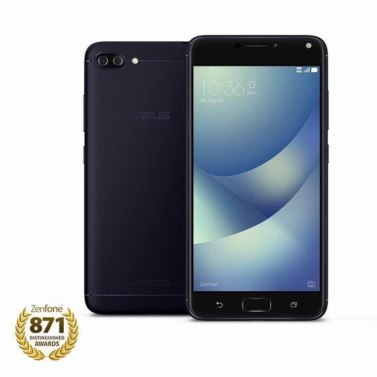 历史新低!Asus 华硕 ZenFone 4 Max 5.2英寸 双卡双待 解锁版智能手机(2GB/16GB)6.4折 179.96加元包邮!