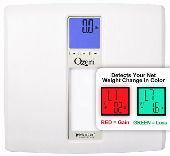 Ozeri ZB20 WeightMaster II 智能数字式体重秤4折 24.01加元!2色可选!