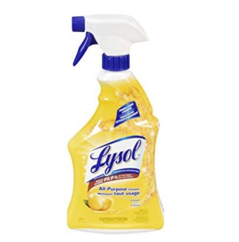 Lysol全能喷雾消毒清洁剂 1.86加元特卖(650ml)