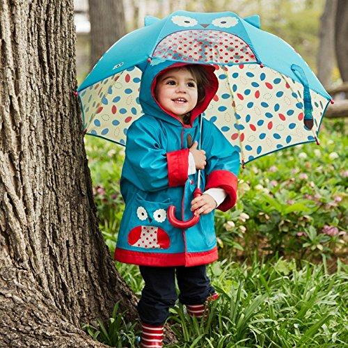 近史低价!Skip Hop Zoo 超可爱 猫头鹰 幼童雨伞 12.5加元!