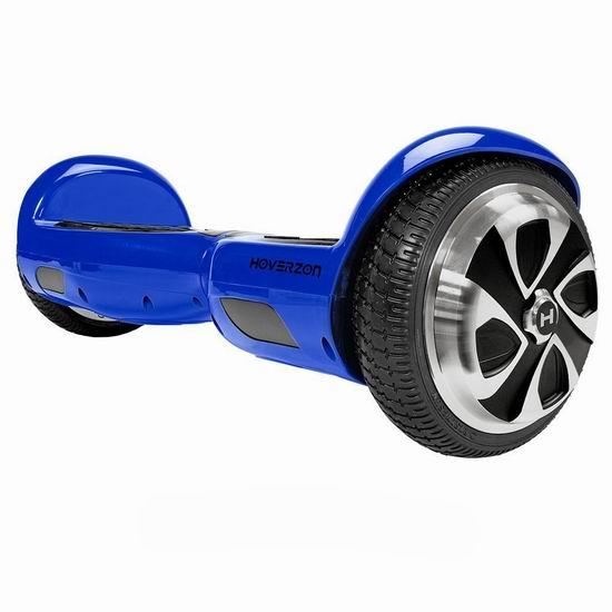 历史新低!Hoverzon Self Balancing 蓝色电动平衡车5.3折 249.99加元包邮!