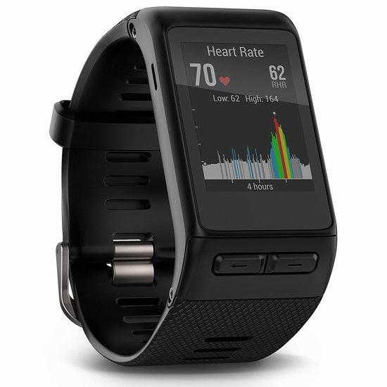 金盒头条:历史新低!Garmin 佳明 Vivoactive HR GPS 智能运动手表 159.99加元包邮!会员专享!