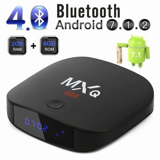 速抢!Leelbox MXQ 网络电视机顶盒(2GB+8GB)5折 29.99加元限量特卖并包邮!