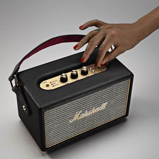 近史低价!Marshall 马歇尔 Kilburn 便携式 摇滚重低音 无线蓝牙音箱4.7折 188加元包邮!