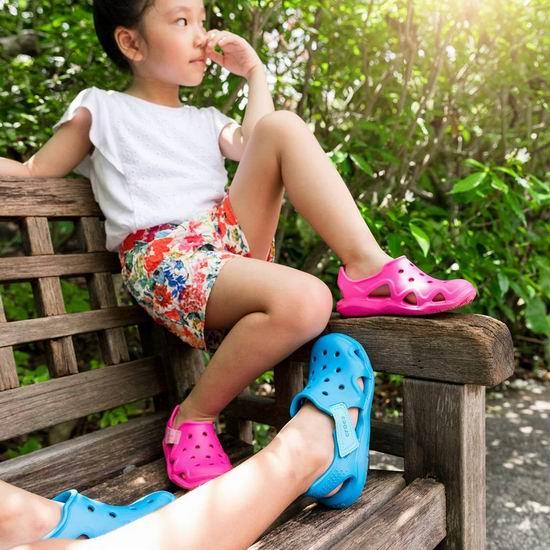 Crocs 卡洛驰洞洞鞋 夏季清仓最后一天!精选大量鞋靴4折起!额外8.5折!