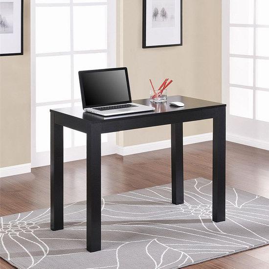 历史新低!Altra Furniture 带抽屉 黑色书桌/电脑桌 64.97加元包邮!