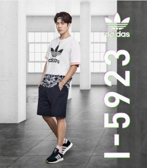 The Bay精选 adidas、三叶草男士运动服、运动鞋、休闲帽 4折起 +额外8.5折优惠!