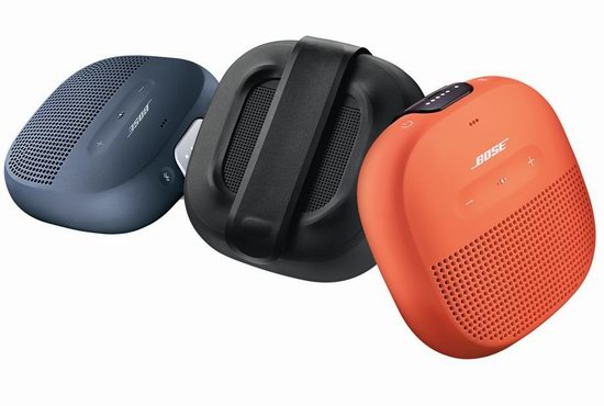 Bose SoundLink Micro 防水蓝牙音箱 109加元包邮!3色可选!