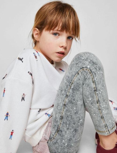 Mango精选高颜值儿童连衣裙、T恤、卫衣 、短裙 3折 9.99加元起特卖!