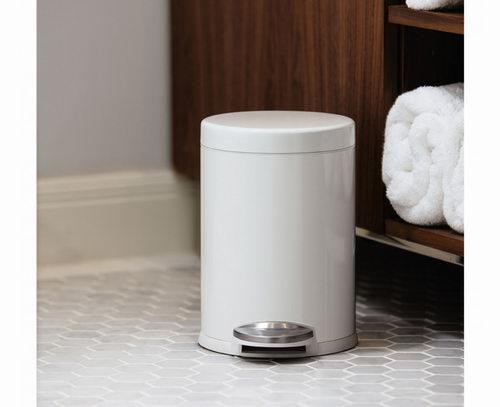 Simplehuman 脚踩式 圆形垃圾桶 29.99加元(4色),原价 49.8加元
