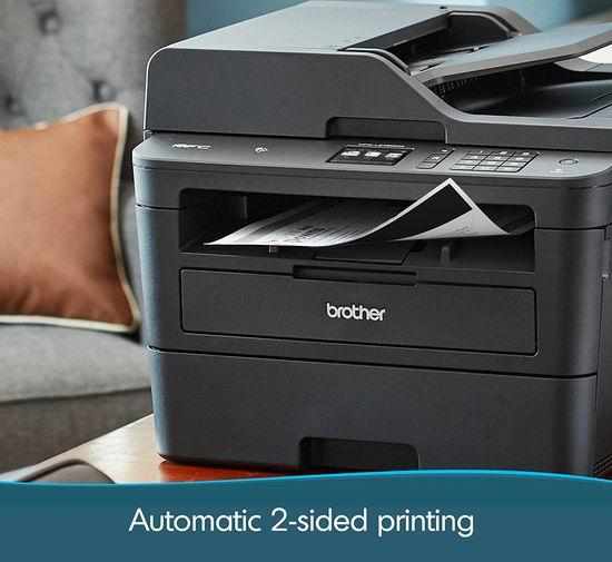 Brother MFCL2750DW 四合一 多功能黑白激光打印机6折 228.99加元包邮!