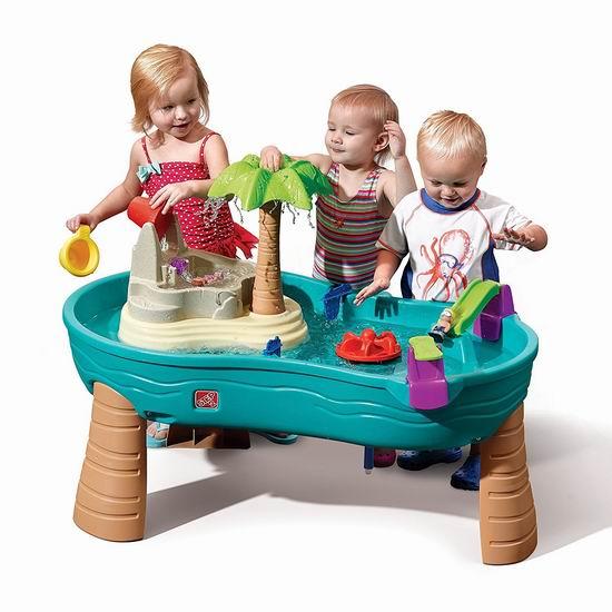 历史新低!Step2 Splish Splash Seas 儿童多功能玩水台4.1折 59.97加元包邮!会员专享!