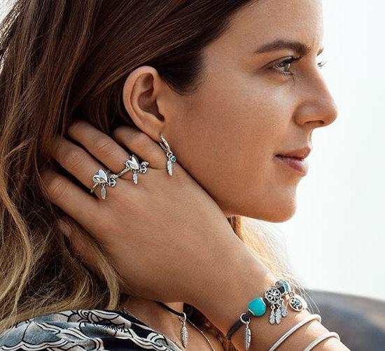 Pandora 潘多拉 精选手镯、串珠、戒指等精美首饰7折,满送价值45加元首饰盒+买多送多!