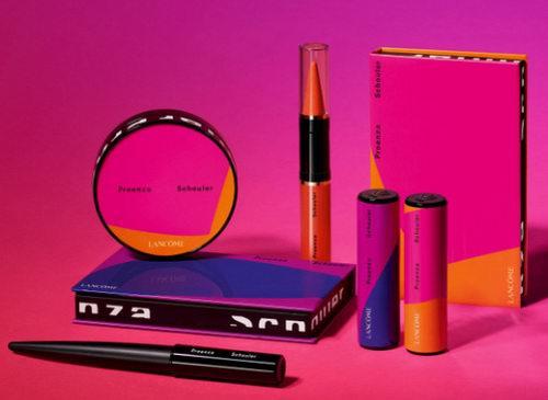 2018 秋季Lancome x Proenza Schouler 限量联名彩妆系列上市!几何抽象+大胆撞色引爆艺术潮流时尚!