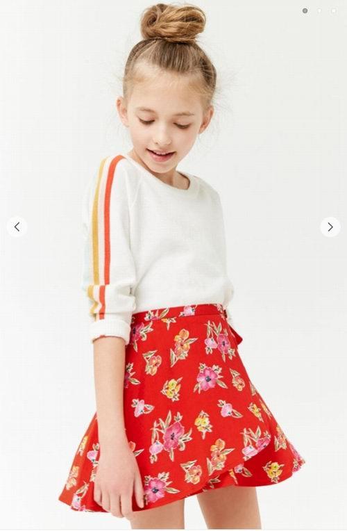 Forever 21 超可爱女童连衣裙、卫衣、短裙、上衣 5折+额外6折优惠!