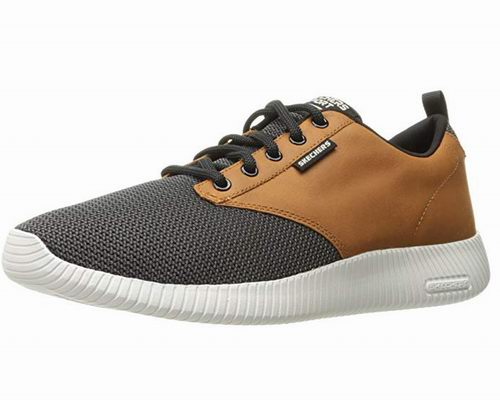 Skechers Depth Charge 男士拼接绑带休闲鞋 52.38加元起,原价 84.5加元,包邮