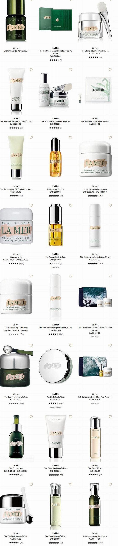 全场CPB、SK-II 、La Mer、Givenchy等大牌美妆护肤品、香水9折优惠!