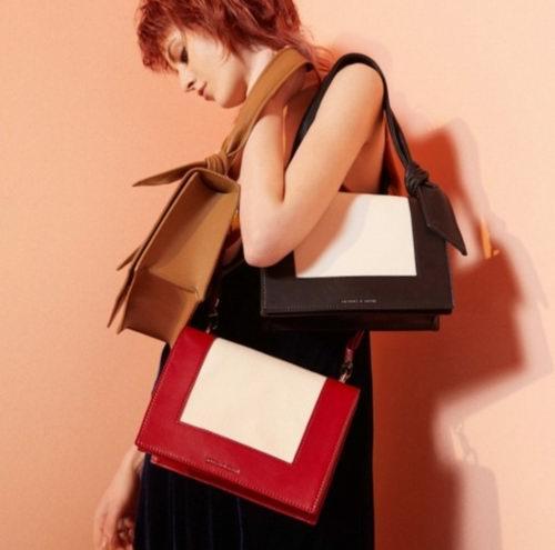 闪购!新加坡快时尚品牌!Charles Keith 超设计感美包、美鞋 5折起特卖+包邮!