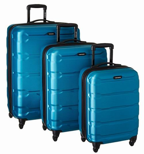 Samsonite 新秀丽 Omni 全PC 蓝色款 超轻硬壳 拉杆行李箱 251.76加元包邮!
