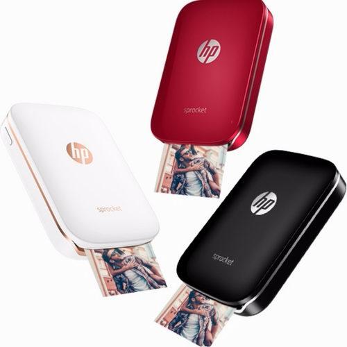 历史新低!HP 惠普 Sprocket 小印 便携式自拍伴侣 口袋照片打印机5.3折 84.99加元包邮!