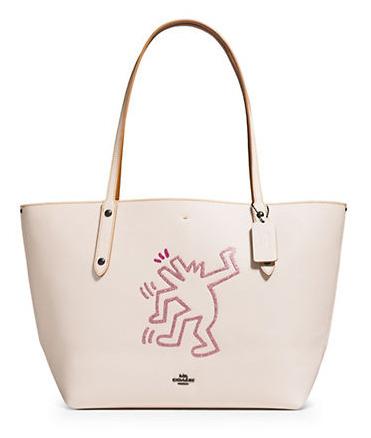 Coach X Keith Haring合作款 Market Tote 手提包 207.5加元,原价 415加元,包邮