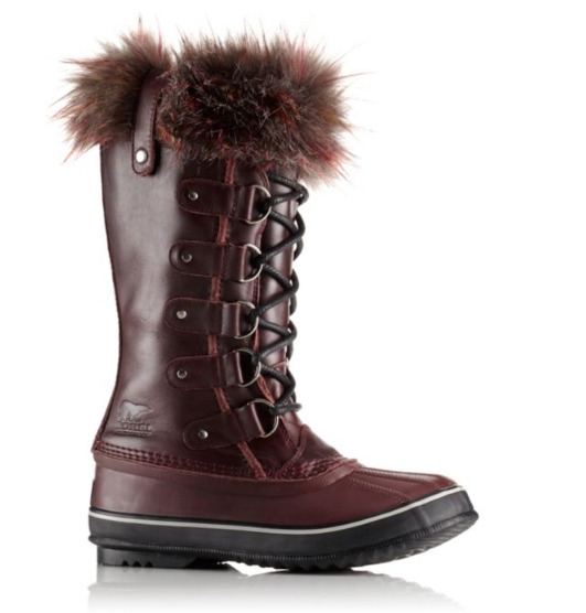 Sorel Joan of Arctic Lux 女式真皮防水雪地靴 159.98加元,原价 400加元,包邮