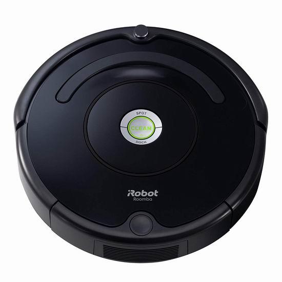 iRobot Roomba 614 智能真空扫地机器人 329.99加元包邮!