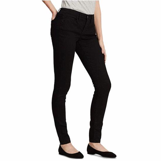 历史新低!Calvin Klein Curvy 女式黑色修身牛仔裤3.3折 29.99加元清仓!