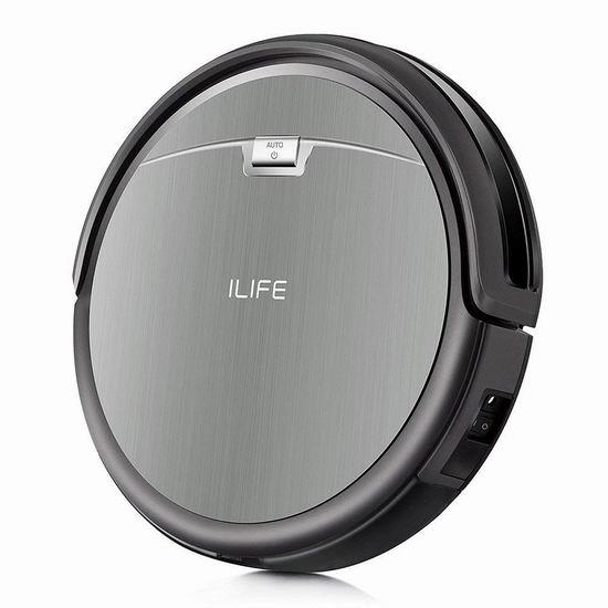 销量冠军!ILIFE A4s 超静音 智能扫地机器人 186.99加元包邮!