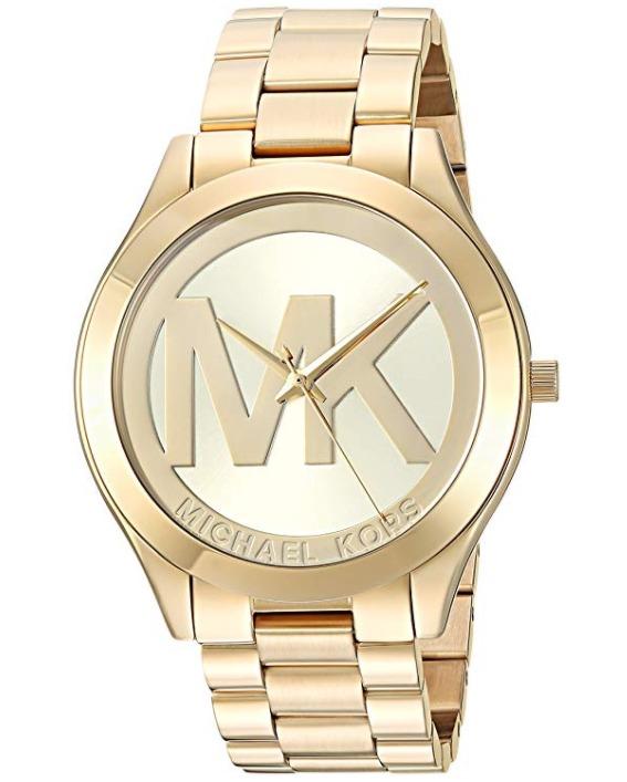 历史新低!Michael Kors MK3739 Runway 女士镀金腕表/手表5.6折 145.83加元包邮!