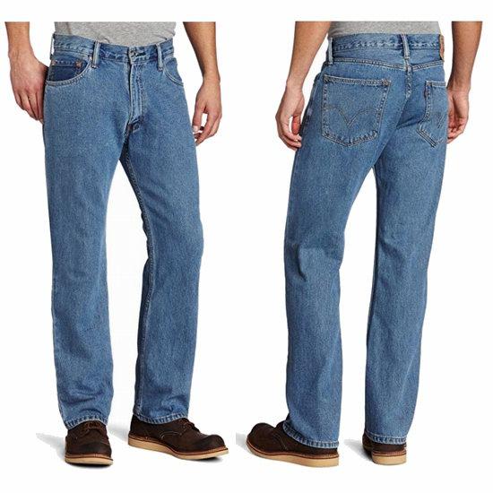 Levi's 李维斯 505 男士直筒牛仔裤4.1折 39.99加元包邮!