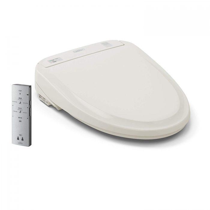 白菜价!Toto SW573#12 Washlet S300e 遥控 顶级智能马桶盖(圆形)3折 641.62加元包邮!
