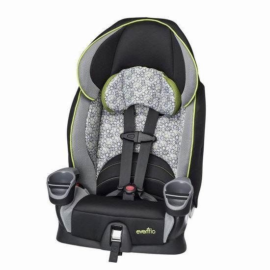 Evenflo Maestro 儿童增高型汽车安全座椅 99.97加元包邮!