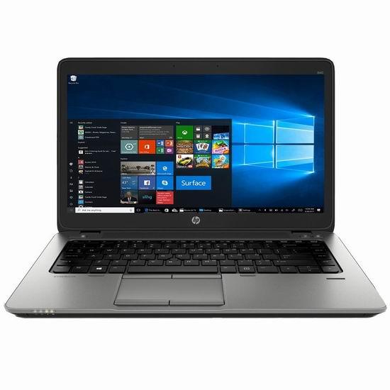 金盒头条:历史新低!翻新 HP 惠普 Elitebook 840 G1 14寸笔记本电脑(8GB/320GB)5.8折 295加元包邮!