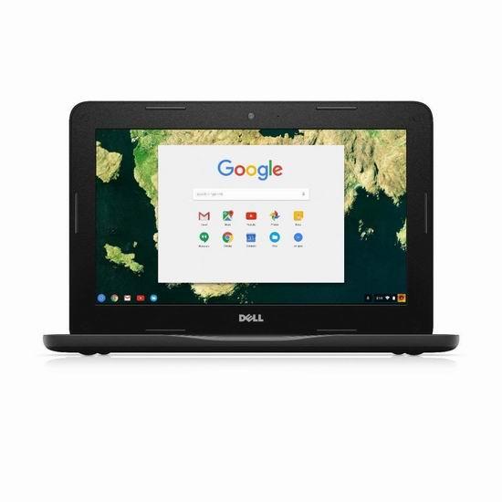 翻新 Dell 戴尔 Chromebook 3180 11寸笔记本电脑(4GB/16GB SSD) 199加元限量特卖并包邮!