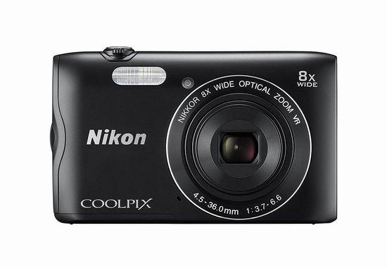 金盒头条:历史新低!翻新 Nikon 尼康 COOLPIX A300 20.1MP 便携式数码相机 98.99加元包邮!