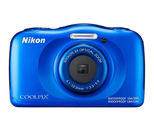 历史新低!Nikon 尼康 COOLPIX W100 13.2MP 防尘防水防震 便携式数码相机6.5折 129.99加元包邮!