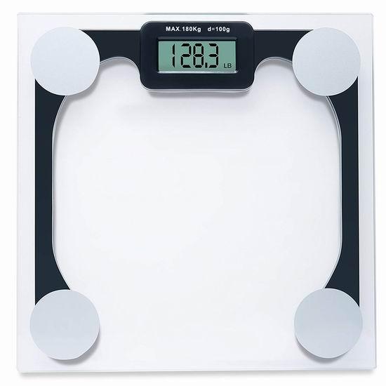 历史新低!Sagler 高精度数字电子体重秤4.3折 12.99加元清仓!