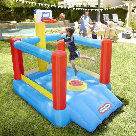 Little Tikes 小泰克 Super Slam 'n 一体式儿童充气蹦床+球架组合3折 132.66加元包邮!