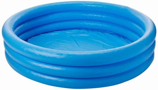 Intex Crystal Blue 儿童充气游泳池/戏水池3.5折 10.95加元!