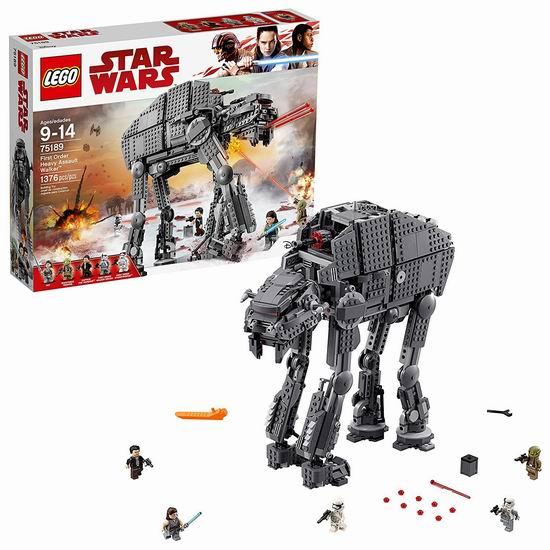 Lego 乐高 75189 星球大战系列 重型攻击步行机(1376pcs)7.3折 124.86加元包邮!